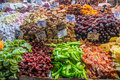 Turkish delights typical on sale at the market in istanbul Royalty Free Stock Photography