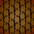 Turkish gold pattern Royalty Free Stock Images
