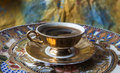 Turkish, Greek coffee Royalty Free Stock Photo