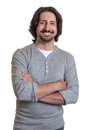Turkish guy with crossed arms Royalty Free Stock Photo