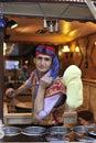 Turkish iceman Royalty Free Stock Photo