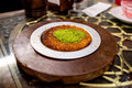 Turkish Kanafeh Royalty Free Stock Photo