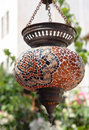 Turkish lamp Royalty Free Stock Image