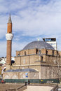 Turkish mosque in the center of the city of sofia bulgaria february Royalty Free Stock Photos