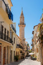 Turkish mosque in Chania. Crete, Greece Stock Photos