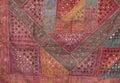 Turkish patchwork Royalty Free Stock Photo