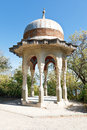 Turkish pavilion in livadiya garden yalta silver oldest belvedere crimea Royalty Free Stock Images