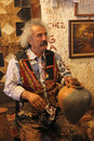 Turkish potter, pottery Royalty Free Stock Photo