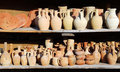 Turkish pottery (Cappadocia) Royalty Free Stock Photo