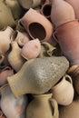 Turkish pottery in Cappadocia Royalty Free Stock Photo
