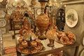 Turkish Pottery Royalty Free Stock Photo