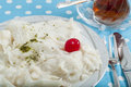 Turkish Ramadan dessert Gullac Royalty Free Stock Photo