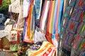 Turkish souvenir stall close up Royalty Free Stock Photo