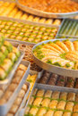 Turkish sweet baklava Stock Images