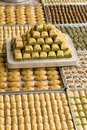 Turkish sweets Royalty Free Stock Photo