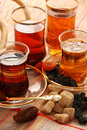Turkish tea. Royalty Free Stock Image