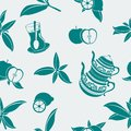 Turkish Tea Seamless Pattern