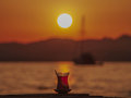 Turkish Tea Sunset