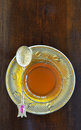Turkish teacup Royalty Free Stock Photo