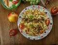 Turkmen Pilaf Royalty Free Stock Photo