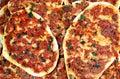 Turkse pizza Royalty-vrije Stock Foto's