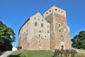 Turku castle medieval in the town of finland Stock Photo