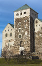 Turku castle swedish in finland which has acquired close to the modern view of the reign of king gustav vasa Royalty Free Stock Image