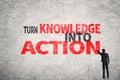 Otáčet znalost akce
