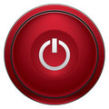 Turn Off button Royalty Free Stock Photo