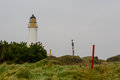 Turnberry lighthouse in scotland uk Stock Photography