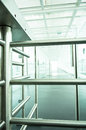 Turnstile modern security barrier close up photo Royalty Free Stock Images