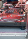 Turntable for Scratching Royalty Free Stock Photo