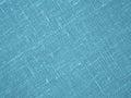Turquoise backround - Linen Canvas - Stock Photo Royalty Free Stock Photo