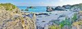 Turquoise beach near Southampton, Bermuda Royalty Free Stock Photo
