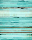 Turquoise And Brown Abstract A...