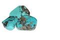 Turquoise gemstone Royalty Free Stock Photo