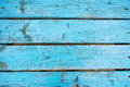 Turquoise painted boards ,table top.