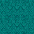Turquoise seamless royal background vector illustration Royalty Free Stock Photo