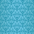 Turquoise seamless wallpaper Royalty Free Stock Photo
