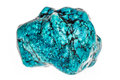 Turquoise stone Royalty Free Stock Photo