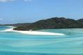 Turquoise waters of Whitsunday Island Royalty Free Stock Photo
