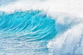 Turquoise waves at Sandy Beach, Hawaii Royalty Free Stock Photo