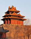 The Turret of the Imperial Palace in forbidden cit Royalty Free Stock Photos