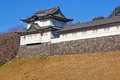 Turret in imperial palace tokyo japan Royalty Free Stock Photos