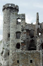 Turret ruined castle Royalty Free Stock Photo