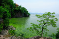 Turtle Island Tai Lake in Wuxi China Royalty Free Stock Photo