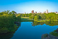 Turtle Pond in Central Park, New York City Royalty Free Stock Photo