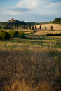 A Tuscan Castle Stock Photos