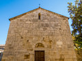 Tuscan Church Royalty Free Stock Photo