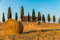 Tuscan Farmhouse Royalty Free Stock Photo